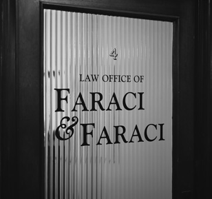 Faraci Office Door